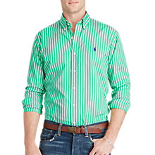 Buy Polo Ralph Lauren Cotton Poplin Stripe Shirt Online at johnlewis.com
