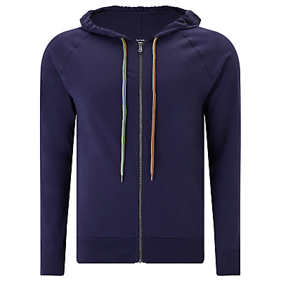 Paul Smith Jersey Cotton Hoodie, Navy