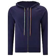 Buy Paul Smith Jersey Cotton Lounge Hoodie, Navy Online at johnlewis.com
