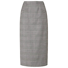 Buy L.K.Bennett Neha Neat Check Skirt, Grey Online at johnlewis.com