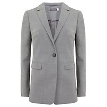 Buy Mint Velvet Fitted Flannel Blazer, Grey Online at johnlewis.com