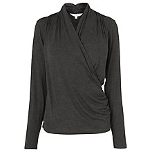Buy L.K. Bennett Bellis Wrap Front Top Online at johnlewis.com