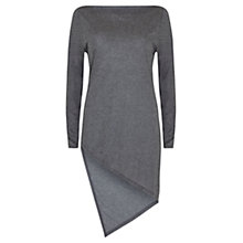 Buy Mint Velvet Asymmetric Tunic, Grey Online at johnlewis.com
