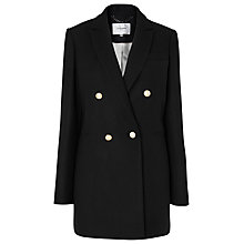 Buy L.K. Bennett Ursula Jacket, Black Online at johnlewis.com