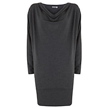 Buy Mint Velvet Batwing Dress, Grey Online at johnlewis.com