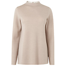 Buy L.K. Bennett Whitney Merino Knitted Top, Oatmeal Online at johnlewis.com