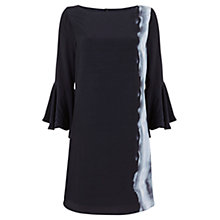 Buy Mint Velvet Sky Print Fluted Sleeve Dress, Multi Online at johnlewis.com