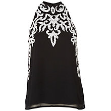Buy Raishma High Neck Top, Black Online at johnlewis.com