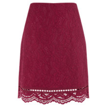 Buy Warehouse Bonded Lace Pelmet Skirt Online at johnlewis.com