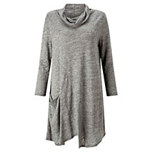 Buy East Cutabout Seam Tunic Top, Flint Online at johnlewis.com