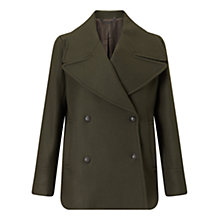 Buy Jigsaw Giant Rever Classic Peacoat Online at johnlewis.com