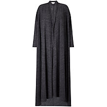 Buy East Maxi Jersey Cardigan, Slate Online at johnlewis.com