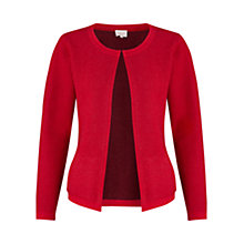Buy East Edge To Edge Boiled Wool Jacket, Scarlet Online at johnlewis.com