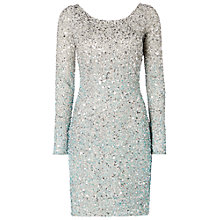 Buy Raishma Sequin Dress, Silver Online at johnlewis.com