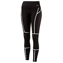 Buy Puma PWRSHAPE Running Tights, Black Online at johnlewis.com
