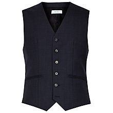 Buy Reiss Brill Wool Modern Fit Waistcoat, Navy Online at johnlewis.com