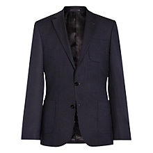 Buy Reiss Lana Patch Pocket Wool Slim Fit Blazer, Navy Online at johnlewis.com
