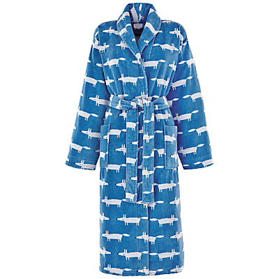 Scion Mr Fox Bath Robe, Denim