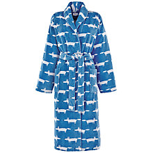 Buy Scion Mr Fox Bath Robe, Denim Online at johnlewis.com