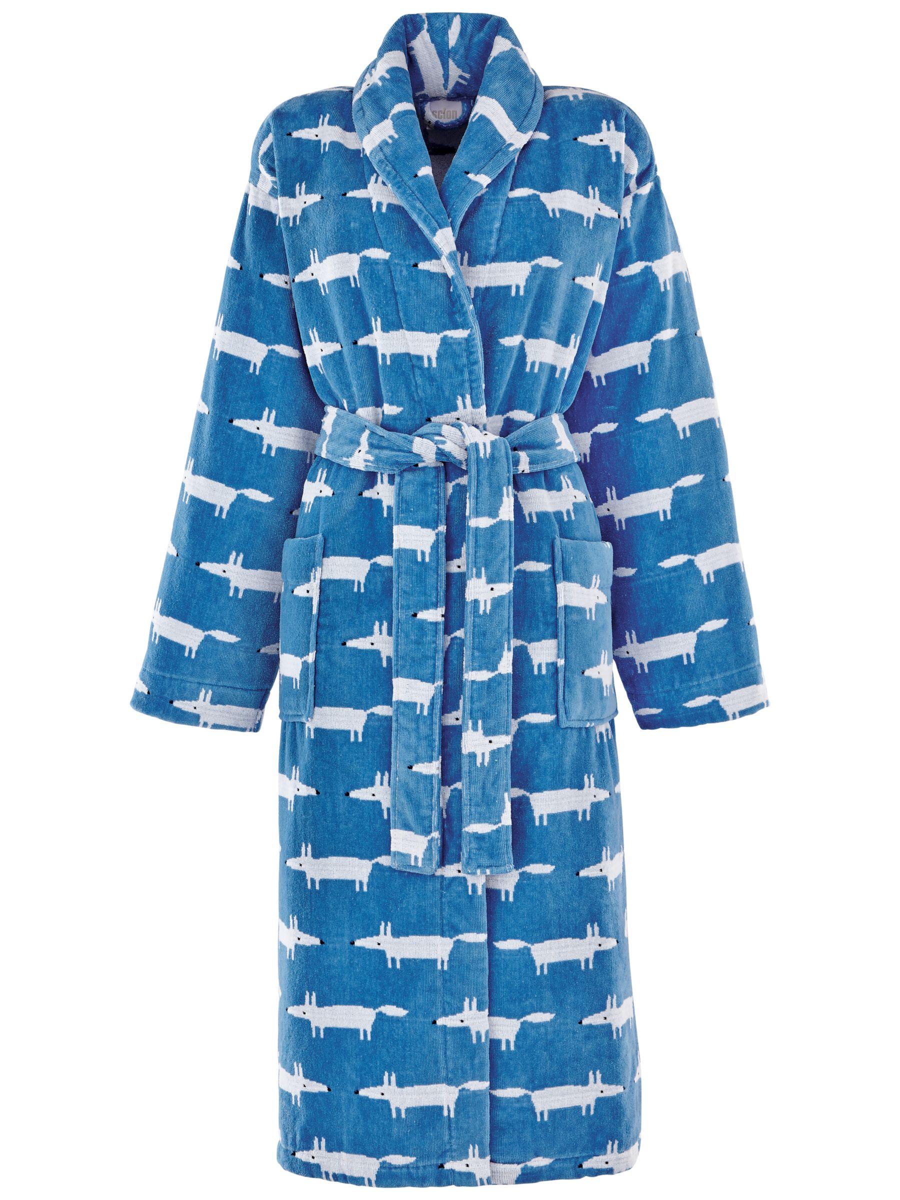 Scion Scion Mr Fox Bath Robe, Denim