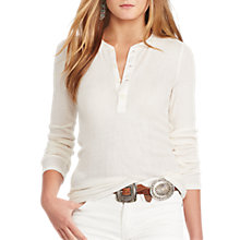Buy Polo Ralph Lauren Long Sleeve Henley Top, Nevis Online at johnlewis.com