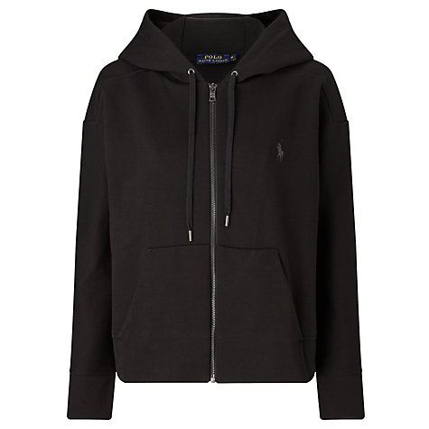 Buy Polo Ralph Lauren Full Zip Hoodie, Polo Black Online at johnlewis.com