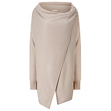 Buy Jacques Vert Oversized Wrap Cardigan, Mid Neautral Online at johnlewis.com