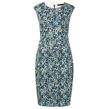 Buy Sugarhill Boutique Celia Textured Camo Print Shift Dress, Multi Online at johnlewis.com