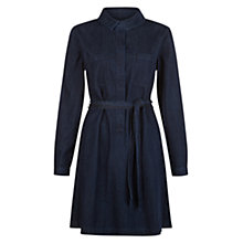Buy Hobbs Daniela Denim Dress, Indigo Online at johnlewis.com