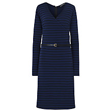 Buy Sugarhill Boutique Rona Stripe Dress, Navy Online at johnlewis.com