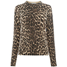 Buy Warehouse Animal Print Jumper Online at johnlewis.com