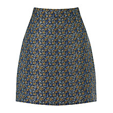 Buy Warehouse Jacquard Pelmet Skirt, Multi Online at johnlewis.com