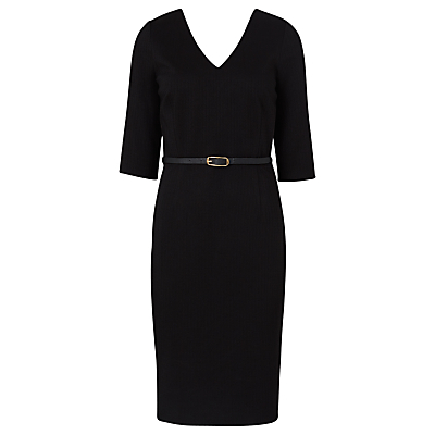 Sugarhill Boutique Bonita Textured Dress, Black