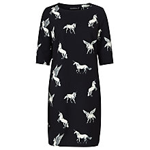 Buy Sugarhill Boutique Atida Make Believe Tunic Dress, Black Online at johnlewis.com