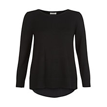 Buy Hobbs Tabitha Sweater, Black Online at johnlewis.com
