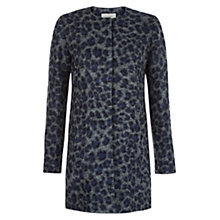 Buy Hobbs Gemma Wool Coat, Grey Online at johnlewis.com