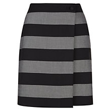 Buy Hobbs Gracie Skirt, Grey/Black Online at johnlewis.com