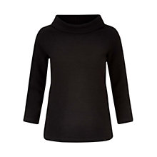 Buy Hobbs Coleta Top, Black Online at johnlewis.com