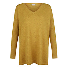 Buy Hobbs Viola Cashmere Jumper, Chartreuse Online at johnlewis.com