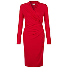 Buy Hobbs Laine Dress, Red Online at johnlewis.com