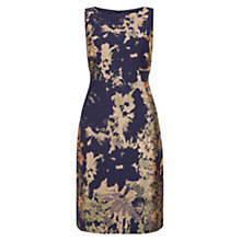 Buy Hobbs Rubis Dress, Midnight/Multi Online at johnlewis.com