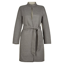 Buy Hobbs Daena Coat, Grey Online at johnlewis.com