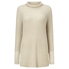 Buy Jigsaw Haze Sheer Mohair-Blend Jumper Online at johnlewis.com