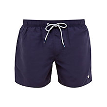 Buy Ted Baker Plansho Drawstring Swim Shorts, Navy Online at johnlewis.com
