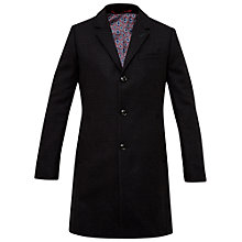 Buy Ted Baker Jackson Mini Design Overcoat, Charcoal Online at johnlewis.com