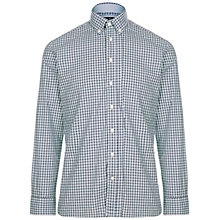 Buy Hackett London Winterpide Poplin Shirt, Blue/White Online at johnlewis.com
