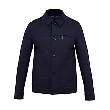 Buy Ted Baker Coolman Patch Pockets Jacket, Navy Online at johnlewis.com