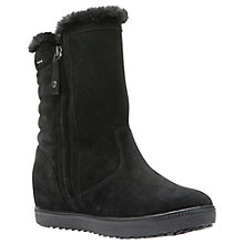 Buy Geox Amaranth Amphibiox Ankle Boots, Black Online at johnlewis.com