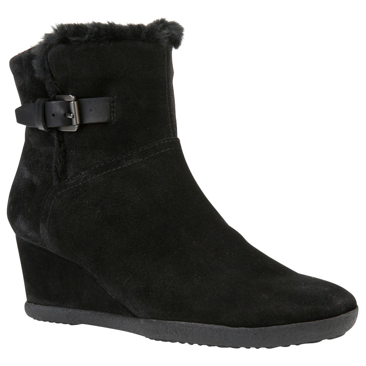 Geox Geox Amelia Wedge Ankle Boots