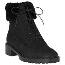 Buy L.K. Bennett Alaska Lace Up Ankle Boots, Black Online at johnlewis.com